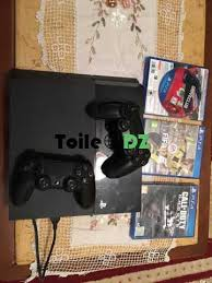 ps4 500gb cuh1116 2 manettes plus 3 cd fifa 17 call of duty drive