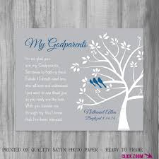 gift for godparents personalized god parent gift from