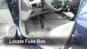honda civic 2006 fuse box interior fuse box location 2006 2011 honda civic 2007 honda