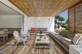 exterior rattan bamboo blinds shades antillesnatural b with