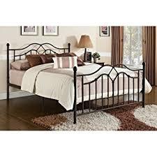 amazon com dhp tokyo metal bed classic design includes metal