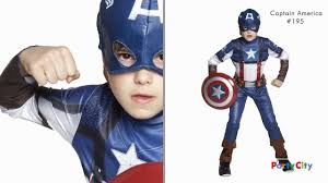halloween costumes captain america superheroes costumes halloween collection party city youtube