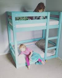 Plans For Toddler Bunk Beds by Bunks Modified For Crib Mattresses Toddler Bunk Beds Diy Do It