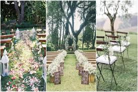 outdoor wedding decorations 25 rustic outdoor wedding ceremony decorations ideas rustic