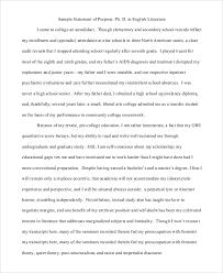 sample statement of interest mba statement of purpose sample sop