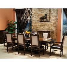 Square Dining Room Tables For 8 8 139 00 Bella Cera Rectangular Dining Set By Michael Amini