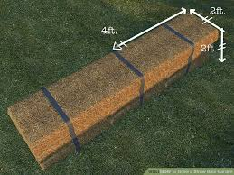 how to grow a straw bale garden 9 steps with pictures wikihow