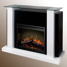decoration electric fireplace contemporary closed hearth built