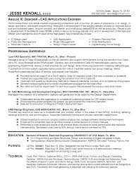 Sample Resume Of Software Developer ic design engineer sample resume 14 software developer sample