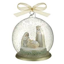 grasslands road nativity ornament joseph and baby jesus