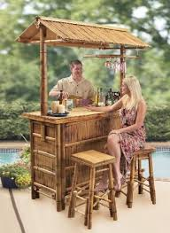 tiki bars for sale what s the best outdoor bar set for your pool or patio outdoor bar