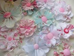 shabby flowers chic and cheap shabby fabric flowers