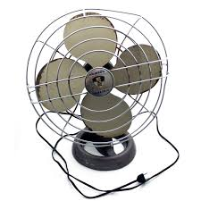 Oscillating Desk Fan by Retrofitting A Classic Desk Fan With Leather Blades Smragan Com