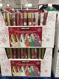 sided christmas wrapping paper kirkland signature sided christmas wrap costcochaser
