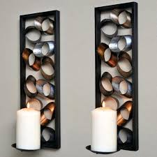 Wall Decor Living Room by Wall Ideas Decorative Candle Wall Sconces For Living Room Image