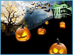 happy halloween screen savers seasons mobile iphone wallpaper