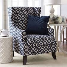 Blue Accent Arm Chair Trendy Design Blue Accent Chairs Blue Blended Linen Accent Chair