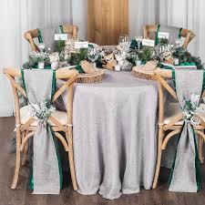 chair sashes for wedding wide satin sash emerald green at cv linens cv linens