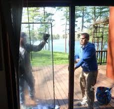 Replacing Patio Door Exterior Door Glass Replacement Insulated Glass Panels Door