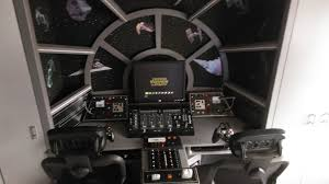 how to make a themed bedroom star wars millennium falcon cockpit