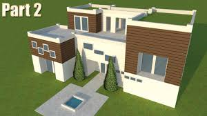 5 modern building design in free google sketchup 8 part 2 youtube