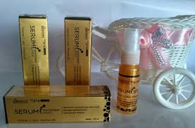 Serum Gold harga whitening serum gold hanasui asli original bpom cv jaya mandiri