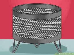 How To Use A Firepit 3 Ways To Use A Pit Wikihow