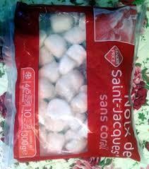 cuisiner st jacques surgel馥s noix de jacques sans corail surgelé leader price 300 g