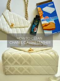 how to remove stains from chanel caviar leather lollipuff