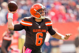 nissan canada nfl contest cleveland browns qb josh mccown plans to play sunday wkyc com
