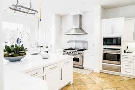 white kitchen cabinets with tile floor how to make tile floors look modern for the frill of it