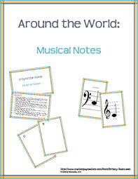 around the world musical notes by rasmussen tpt