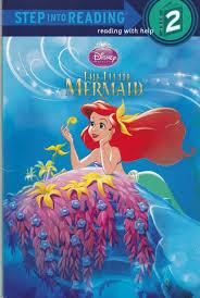 disney princess mermaid story book reading