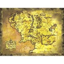 a map of middle earth the lord of the rings the hobbit map of middle