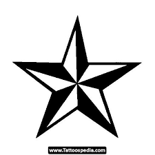 try a nautical star tattoo design in 2017 real photo pictures