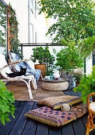 cozy small balcony ideas featuring metal fences baluster and