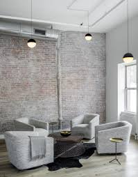an industrial loft in tribeca with a monochromatic palette