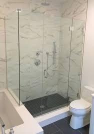 shower basco infinity 28 76 pivot frameless shower door baso