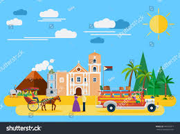 philippines jeepney vector illustration philippiness landmarks icons stock vector 441057877