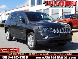 jeep crossover 2015 2015 jeep compass latitude high altitude in malvern pa