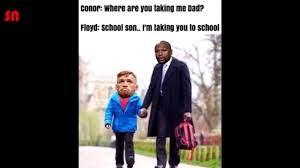 Floyd Mayweather Meme - funniest memes from floyd mayweather vs conor mcgregor youtube