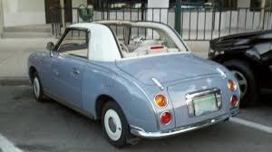 nissan figaro for sale nissan figaro spotted stateside autoweek