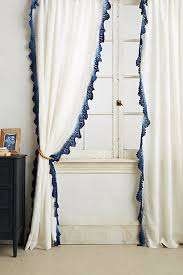 Lace Trim Curtains Ombre Lace Curtain Anthropologie All Kinds Of
