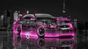 pink subaru subaru impreza wrx jdm crystal city car 2013 el tony