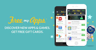 gift card reward apps freemyapps free gift cards rewards apps