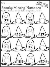 free halloween fun basic addition facts color answers