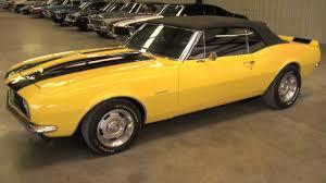 Mustang Yellow And Black 1967 Camaro Convertible Yellow Youtube