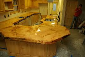 Two Part Epoxy Resin Bar Top Sealing With Shellac Before Pouring Epoxy Resin Bar Top