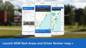 rest area finder rest areas driver reviver locations in nsw trip information