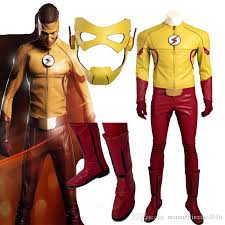 Flash Halloween Costumes 2016 Exclusive Version Flash Cosplay Season 3 Kids Flash Flash